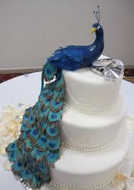 Masse s Pastries peacock wedding cake MASSE S PASTRIES