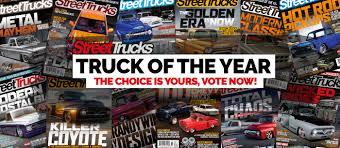 100 Custom Trucks Magazine Vote For The 2018 Truck Of The Year Street