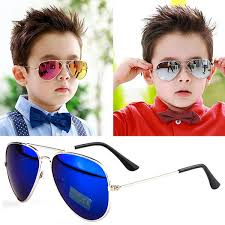 stylish baby boys girls kids children aviator retro sunglasses