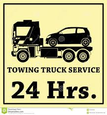 100 Free Tow Truck Service Ing Vector Icon And 24 Hrs Illustration 62050026 Megapixl