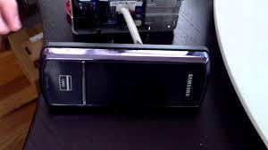 Using NFC implant to unlock Samsung Ezon SHS 3120 deadbolt door