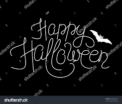 Free Cute Halloween Flyer Templates by Vector Illustration Happy Halloween Lettering Sign Stock Vector