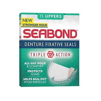 Seabond Denture Fixative Seals - 15 Uppers