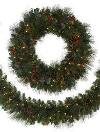 Balsam Hill Premium Artificial Christmas Trees by X Bannister Garland Greenbrier Mountain Pine Artificial