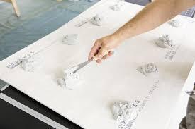 gipskartonplatten zur wandsanierung das haus