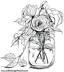Special Offer Flower Coloring Pages For Adults N2GU Cool Small Spring Flowers