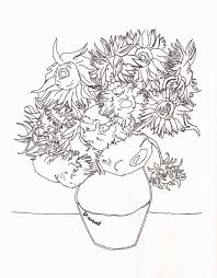 Coloriage Van Gogh 2 Momes Net SIMPLE HOME DECOR IDEAS