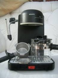 Vintage KRUPS Mini 963 A Black 4 Cup Espresso Cappuccino Coffee Machine EUC