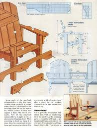 Folding Adirondack Chair Woodworking Plans by Childrens Adirondack Chair Plans U2022 Woodarchivist