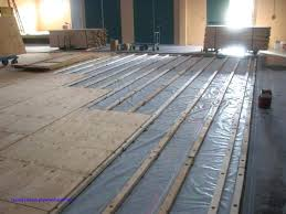 Plywood Subfloor Over Concrete Home Laying Tile On Gluing To