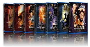 Blu Ray And Other HD Box Size STAR WARS Covers