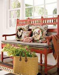 Red Country French Living Rooms by Best 25 French Country Porch Ideas On Pinterest French Country