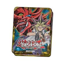 Yugioh Starter Deck Yugi Reloaded Opening by Amazon Com Yu Gi Oh Yugi And Slifer Mega Tin 2016 Toys U0026 Games