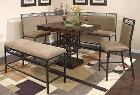 Corner Kitchen Booth Ideas by Corner Kitchen Table Set Full Image Plans Brown Sets Inspiration