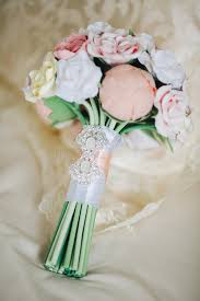 Download Wedding Bouquet Beautiful In Rustic Style With Roses A Bridal