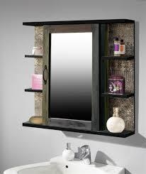 bad spiegelschrank 1 tür 6 ablagen