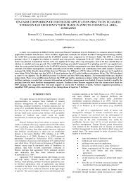 Fertilizer For Pumpkins Uk by On Farm Comparison Of Fertilizer Application Practices To Assess