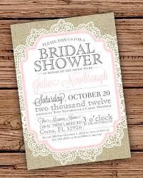 Vintage Bridal Shower Invitations Diy