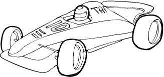 Coloring Pages Of Derby Cars Free Pinewood Car