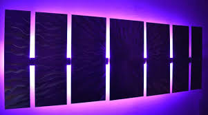 wall decor with led lights getcrafty co