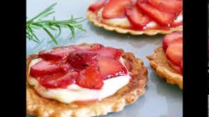 tarte aux fraises pate feuilletee recette tarte aux fraises facile avec pâte feuilletée طريقة تحضير