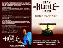 Contest Entry 17 For Book Cover Stay Humble Hustle Hard Daily Planner