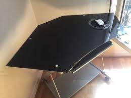 bureau d angle verre achetez bureau d angle en quasi neuf annonce vente à 75
