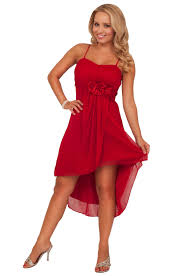 high low hem knee length sweet homecoming special occasion empire