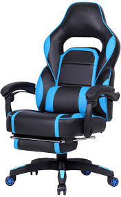 GTPLAYER Reclining Memory Foam Racing Gaming Chair High-Back Ergonomic  Adjustable Computer Desk Office Chair With Retractable Footrest And Lumbar  ...