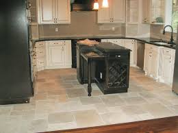 kitchen kitchen floor tile ideas with black kitchen island