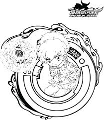 Coloriage Beyblade Burst A Imprimer In Dessin Toupie Beyblade