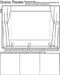 Crayola Make Your Own Coloring Pages Pictures Drama Theatre Page Inside Crayons