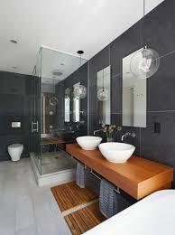 badgestaltung ideen moderne bader badezimmer in grau weis