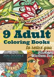 9 Adult Coloring Books To Relax You