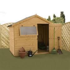 Cheap 6 X 8 Wooden Sheds by Mercia Reverse Apex Wooden Garden Shed 6 U0027 X 8 U0027 Internet Gardener