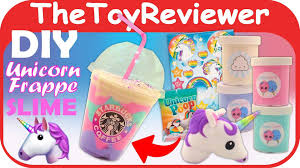Starbucks Unicorn Frappuccino Drawing Fresh Check Out The Slime Diy Frappe Kit Here S