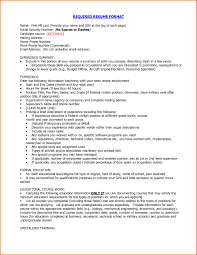 How To Type A Proper Resume by Proper Resume Exle 43 Images Exles Of Resumes How To