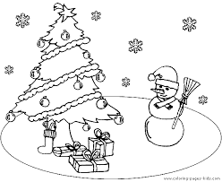 Christmas Tree Coloring Page Print by Christmas Coloring Sheet To Print Christmas Tree