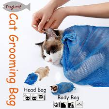 cat stop aliexpress buy doglemi cat shower bath bag cat grooming bag