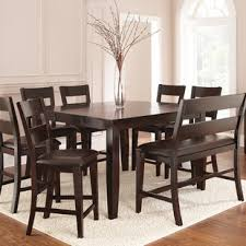 Wynwood Counter Height Dining Set With 8 Side Chairs