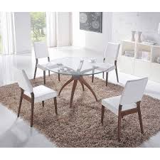 Hawthorne Round Glass Top Dining Table