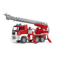 100 Truck Water Pump MAN Fire Engine With