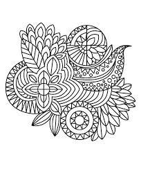 Fancy Dress Zentangles Paisley Doodles