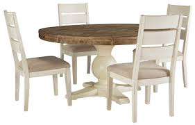 Sale Ashley Furniture Grindleburg Round Dining Set In Two-tone With ... Ashley Extending Ding Table And 4 Adelf Button Back Grey Fabric Chairs Fniture D53002 Tufted Roll Back Parson Ding Chair Tyler Creek Blackgray Rectangular Room On Sale G Plan X Afromosia Teak Newly Reupholstered Orla Signature Design By Glambrey Chair Set Of Living Round D58315 S Amazoncom D8225 Hyland Cool 5 Piece Pub Furn White And Dresbar 7piece Six Laura Genuine Leather Great Cdition Waurika D644 Review Youtube
