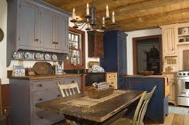 Primitive Decor Kitchen Cabinets The New Way Home Unique