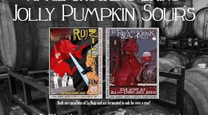 Jolly Pumpkin Beer List by Jolly Pumpkin New Sours Release Beer Geeks Pub