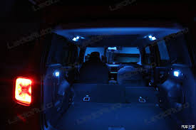 2016 JEEP Renegade Modify Romantic Cool Blue LED Interior Light