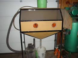 Diy Sandblast Cabinet Vacuum by Homemade Blast Cabinet