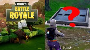 100 Vault Garage New Mysterious Unbreakable In Fornite Battle Royale Possibly