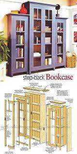 best 25 bookcase plans ideas on pinterest build a bookcase